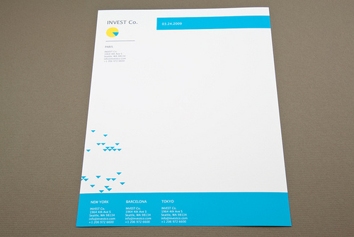 Corporate Letterhead Corporate Letterhead Design Template Corporate